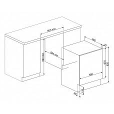 Стиральная машина SMEG LBI147