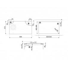 Варочная панель SMEG PM3953D