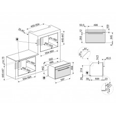 Духовой шкаф SMEG SF4101MCN1