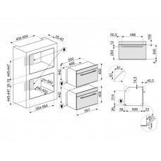 Духовой шкаф SMEG SF4101MCNO