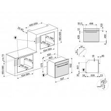 Духовой шкаф SMEG SF6100VN1
