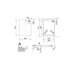 Варочная панель SMEG SIM3323D