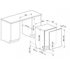 Посудомоечная машина SMEG STP66339L