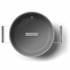 Глубокая сковорода Smeg CKFD2811RDM