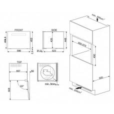 Винный шкаф SMEG CVI121N3