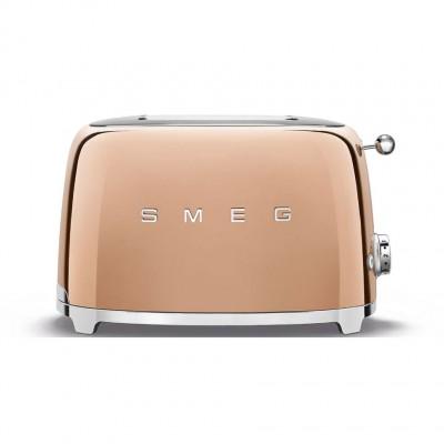 Тостер на 2 ломтика Smeg TSF01RGEU
