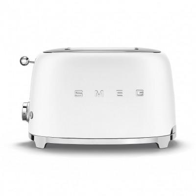 Тостер на 2 ломтика Smeg TSF01WHMEU