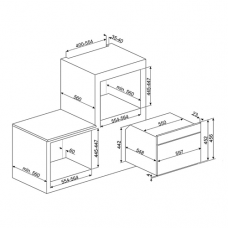 Духовой шкаф SMEG SF4120MC