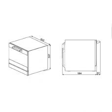 Конвекционная печь SMEG ALFA43XE