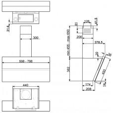 Вытяжка SMEG KCV80SE2