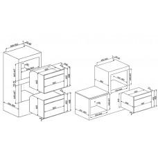 Духовой шкаф SMEG SF4604PVCNX1