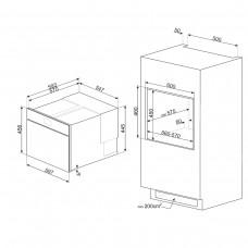 Духовой шкаф SMEG SAB4104S