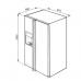 Холодильник Side-by-Side SMEG SBS8004AO