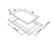 Варочная панель SMEG SR775OT