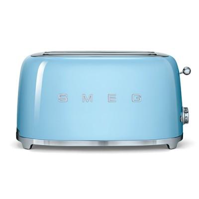 Тостер на 4 ломтика Smeg TSF02PBEU