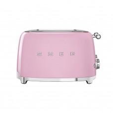 Тостер на 4 ломтика Smeg TSF03PKEU